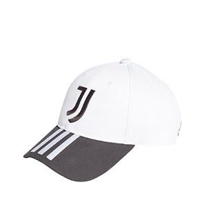 Gorra adidas Juventus - Gorra adidas de la Juventus - blanca y negra - frontal