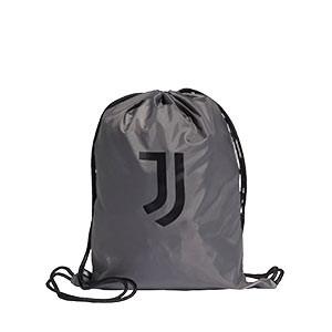 Gymbag adidas Juventus - Mochila de cuerdas adidas de la Juventus - gris - frontal