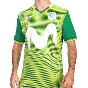 Camiseta Joma 2a Inter Movistar 2020 2021 - Camiseta segunda equipación Joma Movistar Inter 2020 2021 - verde - frontal