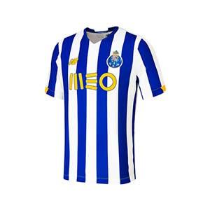 Camiseta New Balance Porto niño 2020 2021 - Camiseta primera equipación infantil New Balance FC Porto 2020 2021 - azul y blanca - frontal