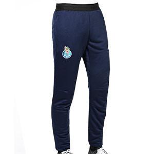 Pantalón New Balance Porto Base - Pantalón largo de paseo New Balance del FC Porto 2020 2021 - azul marino - frontal