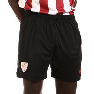 Short New Balance Athletic Club 2021 2022 - Pantalón corto primera equipación New Balance del Athletic Club de Bilbao 2021 2022 - negro - frontal