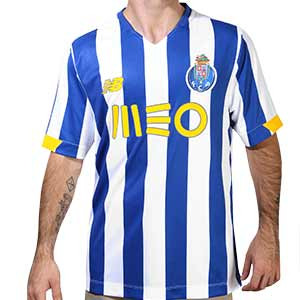 Camiseta New Balance Porto 2020 2021 - Camiseta primera equipación New Balance FC Porto 2020 2021 - azul y blanca - frontal