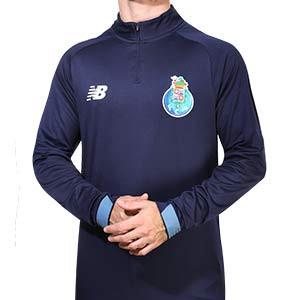 Sudadera New Balance Porto entreno 2020 2021 - Sudadera de entrenamiento New Balance del FC Porto 2020 2021 - azul marino - frontal