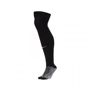 Medias antideslizantes Nike Grip Strike - Medias de fútbol Nike con sistema antideslizante - negras - frontal
