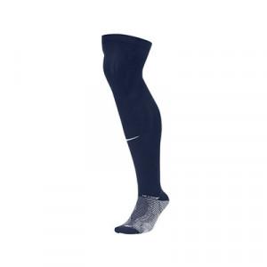 Medias antideslizantes Nike Grip Strike - Medias de fútbol Nike con sistema antideslizante - azul marino - frontal