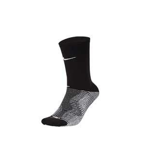Calcetines Nike Grip Strike Crew - Calcetines antideslizantes de media caña de entrenamiento Nike - negros - frontal