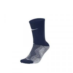 Calcetines Nike Grip Strike Crew - Calcetines antideslizantes de media caña de entrenamiento Nike - azul marino - frontal