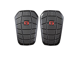 G-Form Pro-S Blade - Espinilleras de fútbol G-Form con mallas de sujeción - negras - frontal