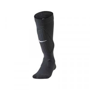 Nike Shine Sock Sleeve niño - Medias con espinilleras incorporadas infantiles Nike - negras - frontal