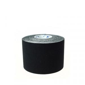 Cinta Kinesology Tape - Tape para uso fisioterapéutico de Kinesio Tape - Negro - TAPEKIN01-Cinta kinesiology tape