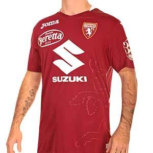 Camiseta Joma Torino 2020 2021 - Camiseta primera equipación Joma Torino FC 2020 2021 - granate - frontal