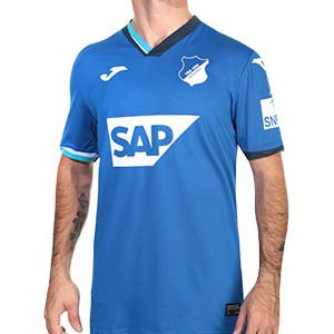 Camiseta Joma Hoffenheim 2020 2021 - Camiseta primera equipación Joma del TSG 1899 Hoffenheim 2020 2021 - azul - frontal