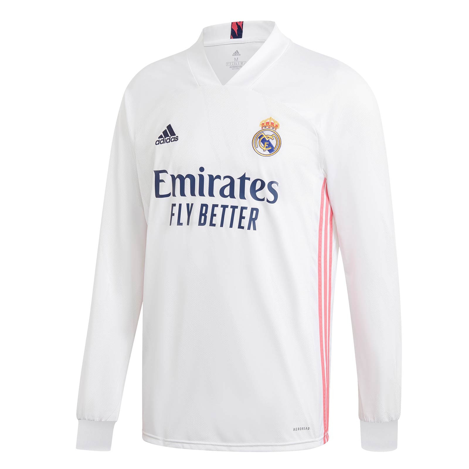 Camiseta manga larga adidas Real Madrid 2020 2021 - futbolmania