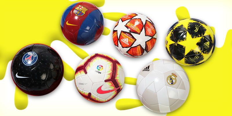 Balones de fútbol para niños