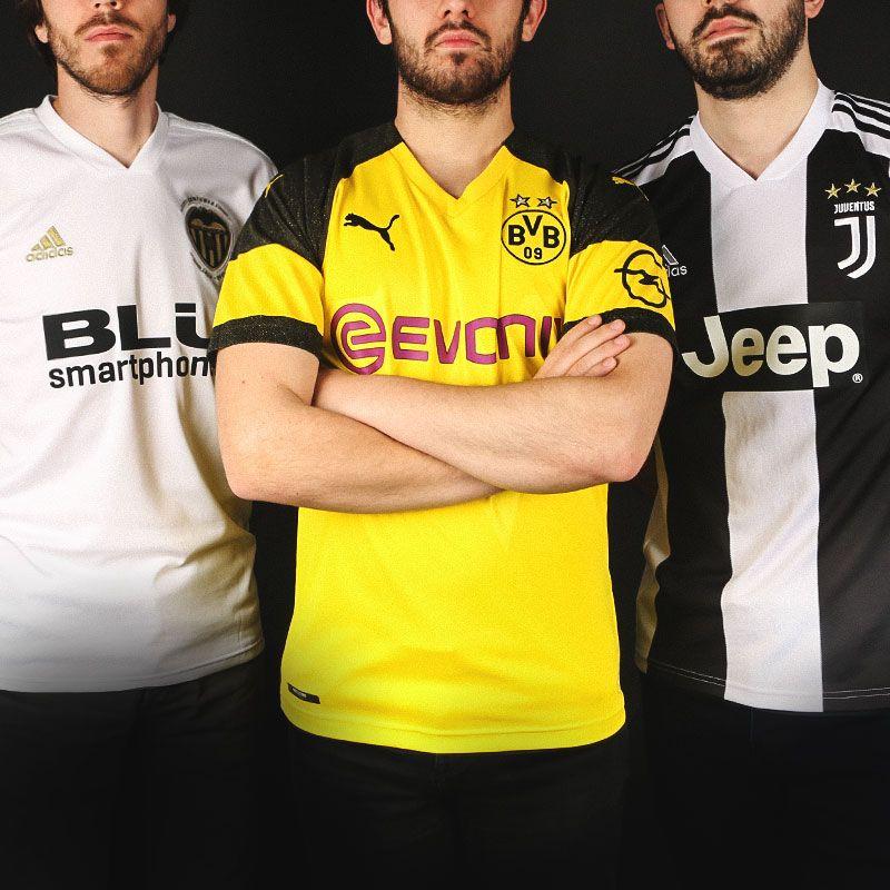 cc03f442f6688 Camisetas de fútbol