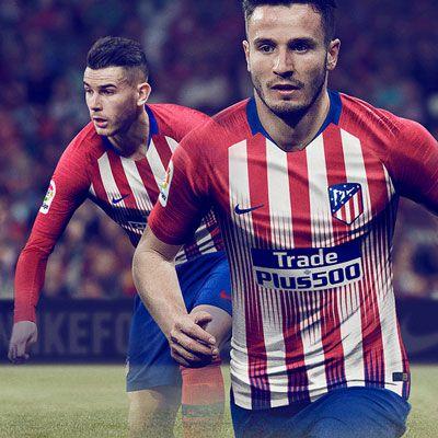 Equipación Atlético de Madrid niño