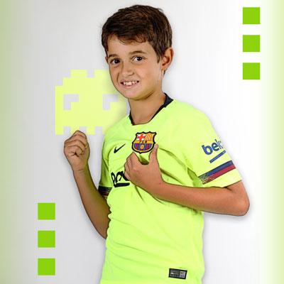 Tienda de fútbol para niños  260ba89ae9f