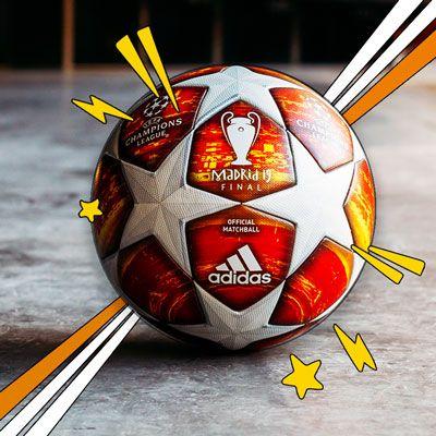 Balón de la Champions niño