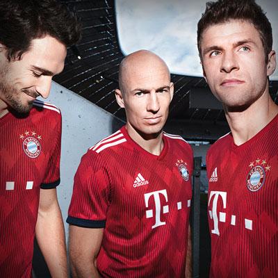 Equipación del Bayern 2019