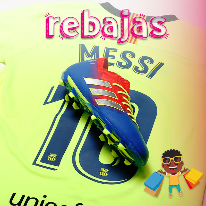 Equipación Messi niño rebajas