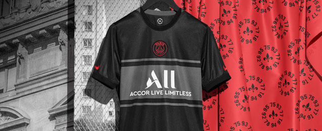 Nueva camiseta infantil 3 Paris Saint Germain equipación 2021 2022