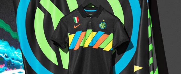 camiseta de la tercera equipación del equipo FC Inter del Milán tamporada 2021 2022