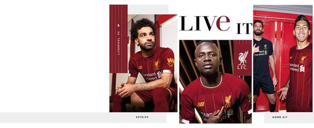 Equipaciones de niño del Liverpool FC de la temporada 2019 2020