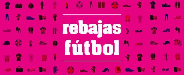 imagen anunciando las rebajas 2020 en futbolmania