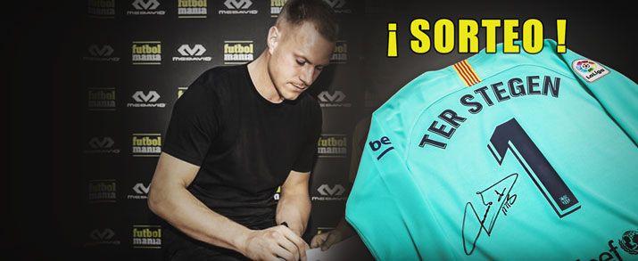 Sorteo camiseta firmada por Ter Stegen en futbolmania