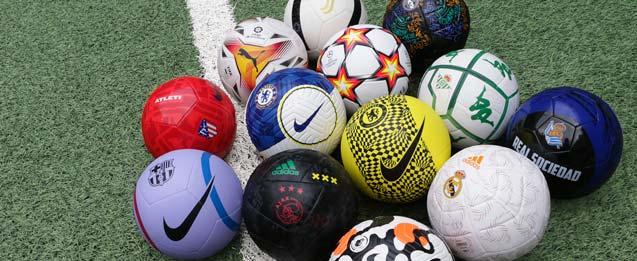 los últimos balones de todos los equipos de fútbol en futbolmania