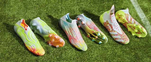 Botas de fútbol adidas Numbersup Pack, X, COPA, Predator