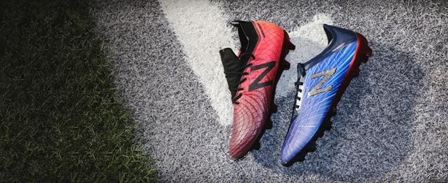 Todas las botas de fútbol New Balance, incluyendo la nueva colección de botas New Balance Lite Shift
