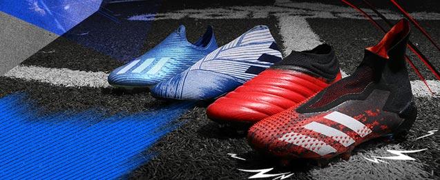 Botas de fútbol adidas colección mutator pack, X, nemeziz, COPA y Predator