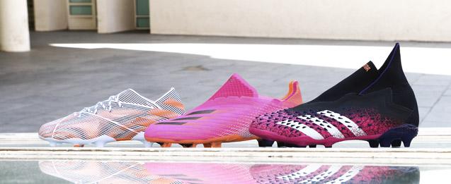 Descubre las nuevas botas infantiles adidas de la colección SuperSpectral , nemeziz, X y Predator.