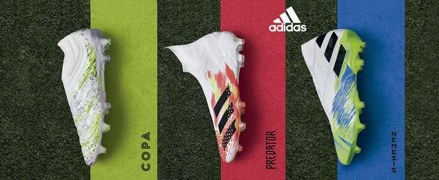 Nuevas botas de adidas colección adidas Uniforia, las últimas botas adidas Copa, Predator, X,