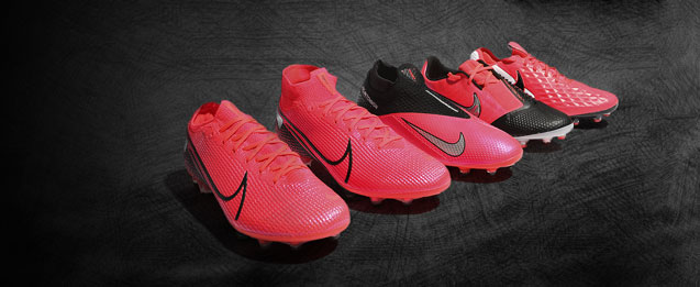 Las nuevas botas Nike Future Lab, Mercurial, Phantom, Tiempo