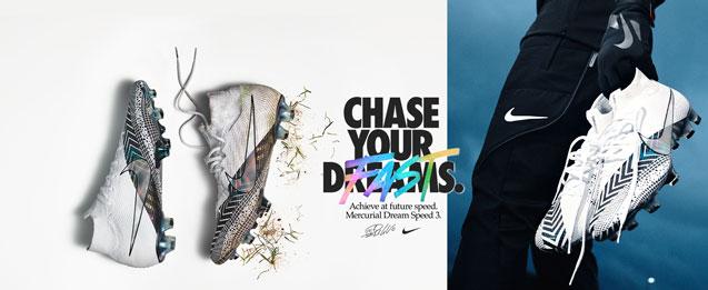 Descubre las nuevas botas de fútbol Nike Mercurial Dream Speed 3