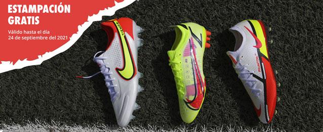 Nuevas botas de fútbol Nike colección Motivation Pack, Phantom, Mercurial y Tiempo
