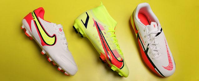 botas de fútbol linea Phantom, Mercurial, Tiempo de la colección Motivation pack para niño