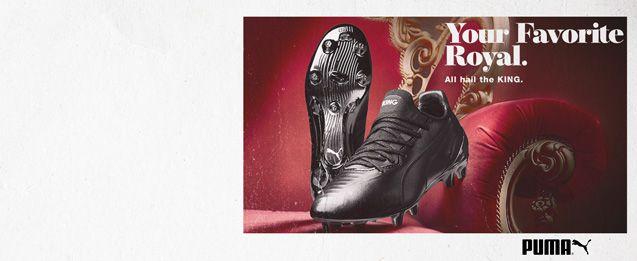 Las nuevas botas puma negras de edición Limitada PUMA KING Platinum, reedición moderna de la bota de football más icónica de la historia