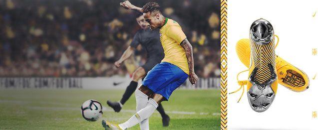 Botas de fútbol Nike de Neymar