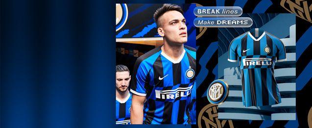 Encuentra todas la equipaciones del Inter de Milán, entre ellas la nueva equipación oficial 2020, lo encuentras en futbolmania