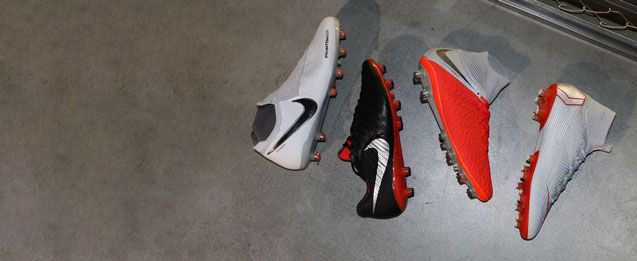 Nuevas botas Nike