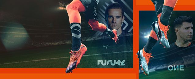Botas de fútbol Puma para niños Uprising Pack