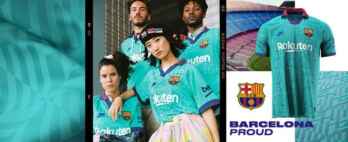 Encuentra todas las equipaciones del Barcelona, entre ellas la tercera equipación 2020, lo encuentras en futbolmania.
