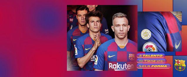 Encuentra todas las equipaciones del Barcelona, entre ellas la nueva equipación oficial 2020, lo encuentras en futbolmania