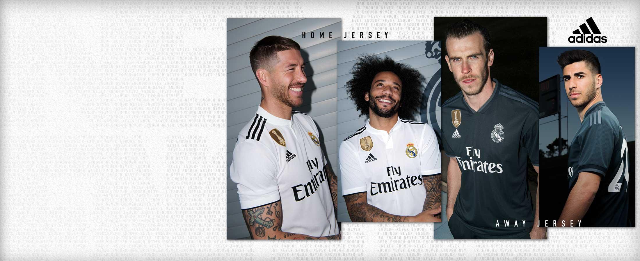 Nueva equipación oficial del Real Madrid 2018/19