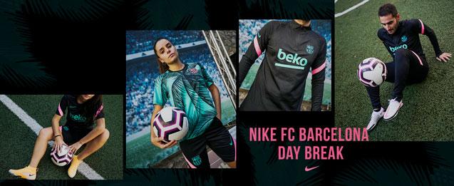 Nueva colección de entrenamiento y calle Nike del FC Barcelona 2020 - 2021