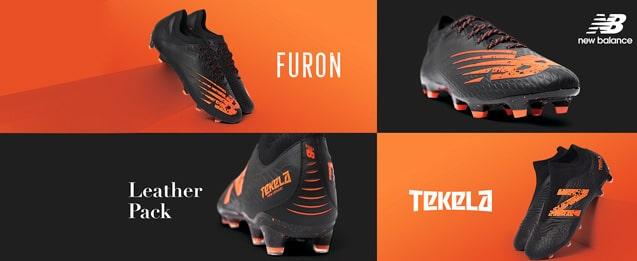 Ya a la venta las nuevas botas de fútbol New Balance Leather Pack,<br> con una construcción en piel de canguro